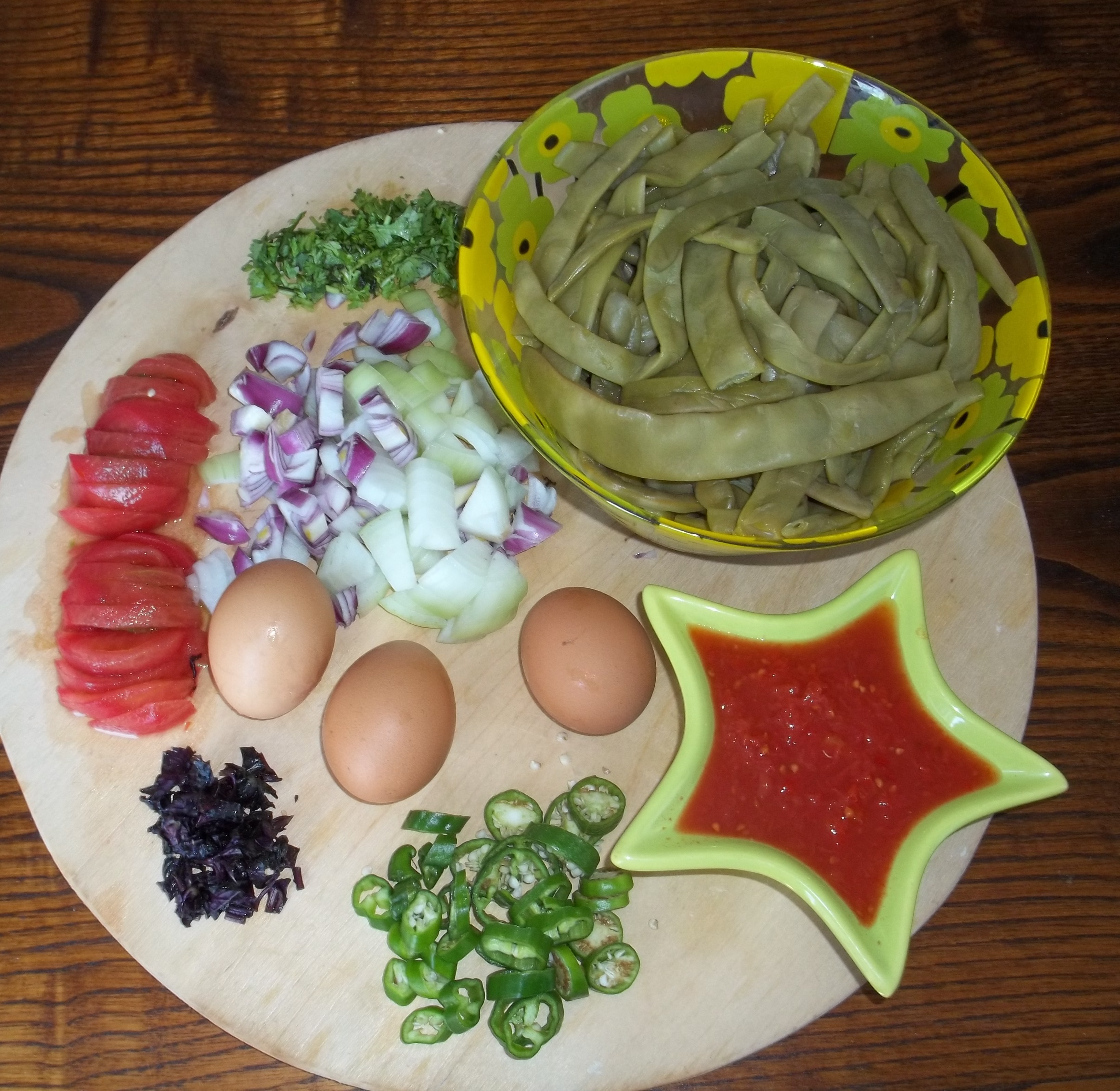 Recipes Using Eggs As Main Ingredient: BEBO'S GREEN BEAN AND EGG BAKE