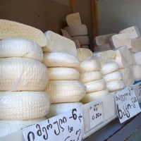 About Food - Georgian Imeretian Cheese