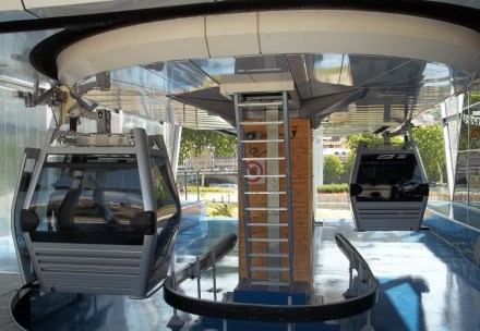 Inside the Tbilisi Aerial Tramway Terminus at Rike Park
