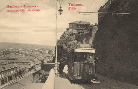 Old Tram in Tbilisi
