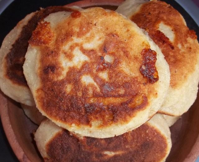 Recipe for Chvishtari (cornbread with cheese)