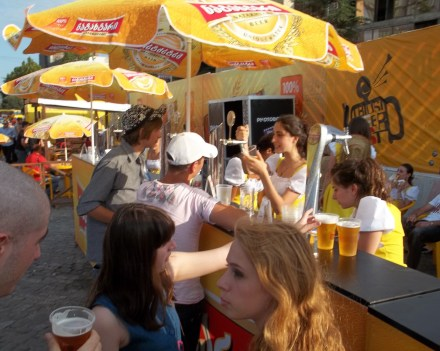 One of the Bars at the 2012 Tbilisi Beer Festival