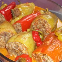 About Food - Tolma (Stuffed Peppers)