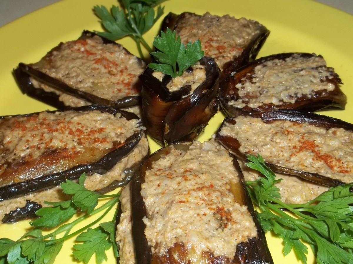 About food eggplant with walnuts and spices georgia about for Aubergine cuisine