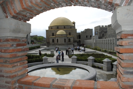 Golden Domed Mosque in Rabati Castle