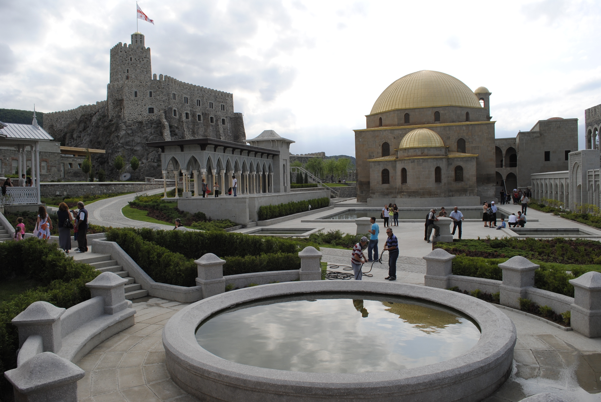 About Sights Rabati Castle A Jewel In The Crown