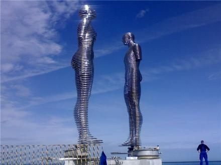 Statue of Love in Batumi
