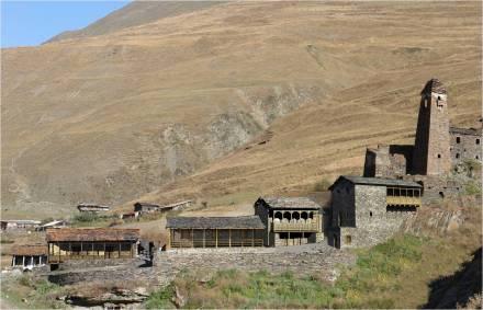 Dartlo Village after Restoration