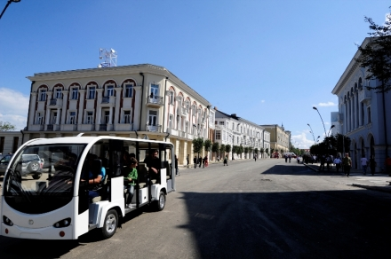 Electric Bus in Telavi