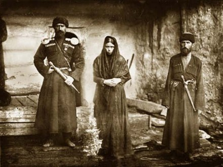 The Svan family of Gelovani