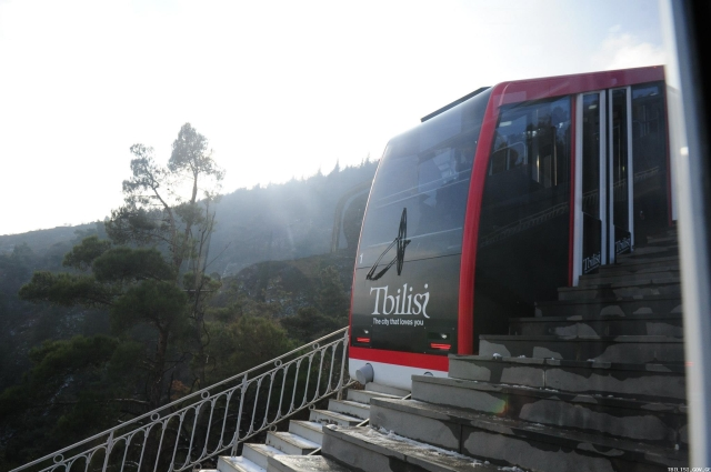 Tbilisi Funicular Railway Carriage