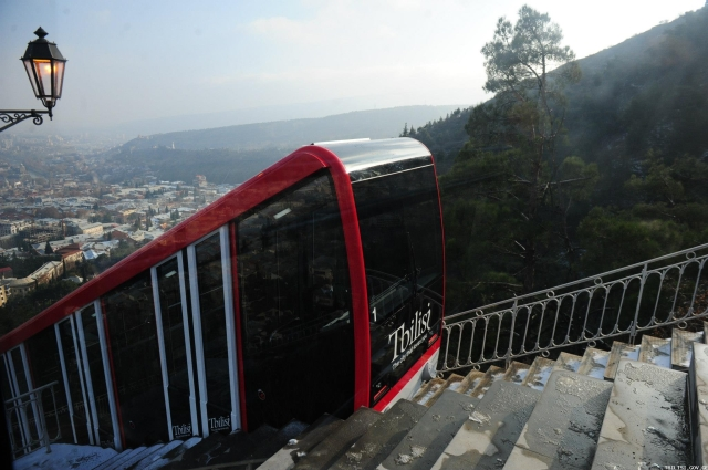 New Tbilisi Funicular Railway