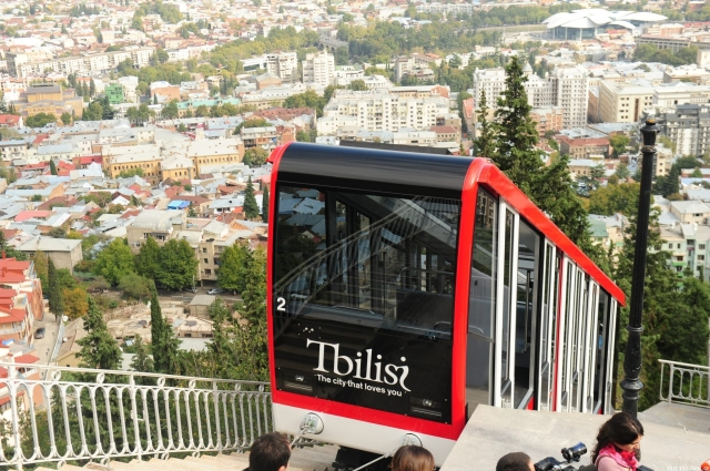 Tbilisi Funicular Railway - Tbilisi Loves You