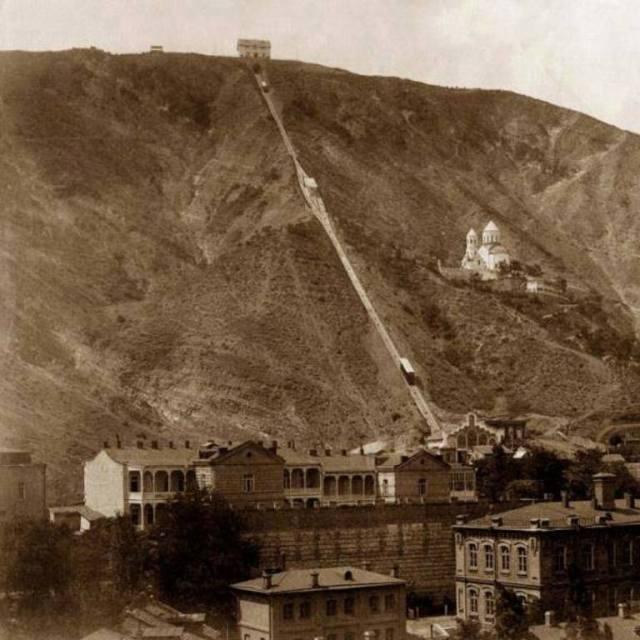 The Tiflis Funicular Railway