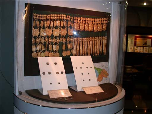 Exhibits at the Money Museum of the National Bank of Georgia
