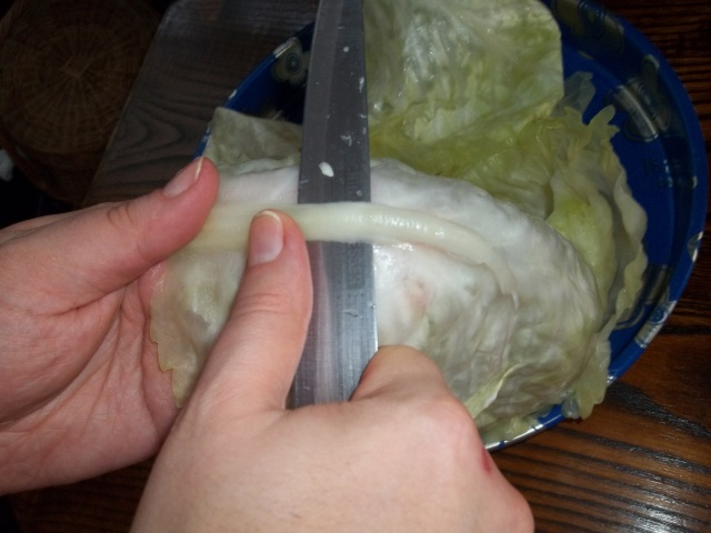 remove-spines-from-the-cabbage-leaves-for-nuts in cabbage leaves-recipe