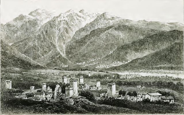 Villages of Mulach and Mugal (original caption)