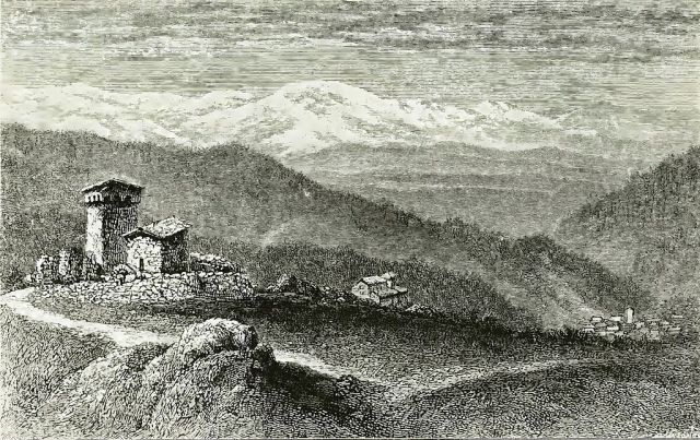 Village of Czirmichi (original caption)