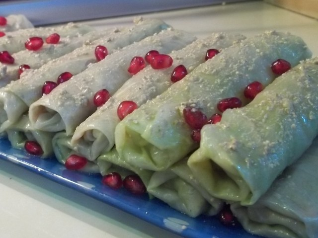 Walnuts Wrapped in Cabbage Leaves Recipe