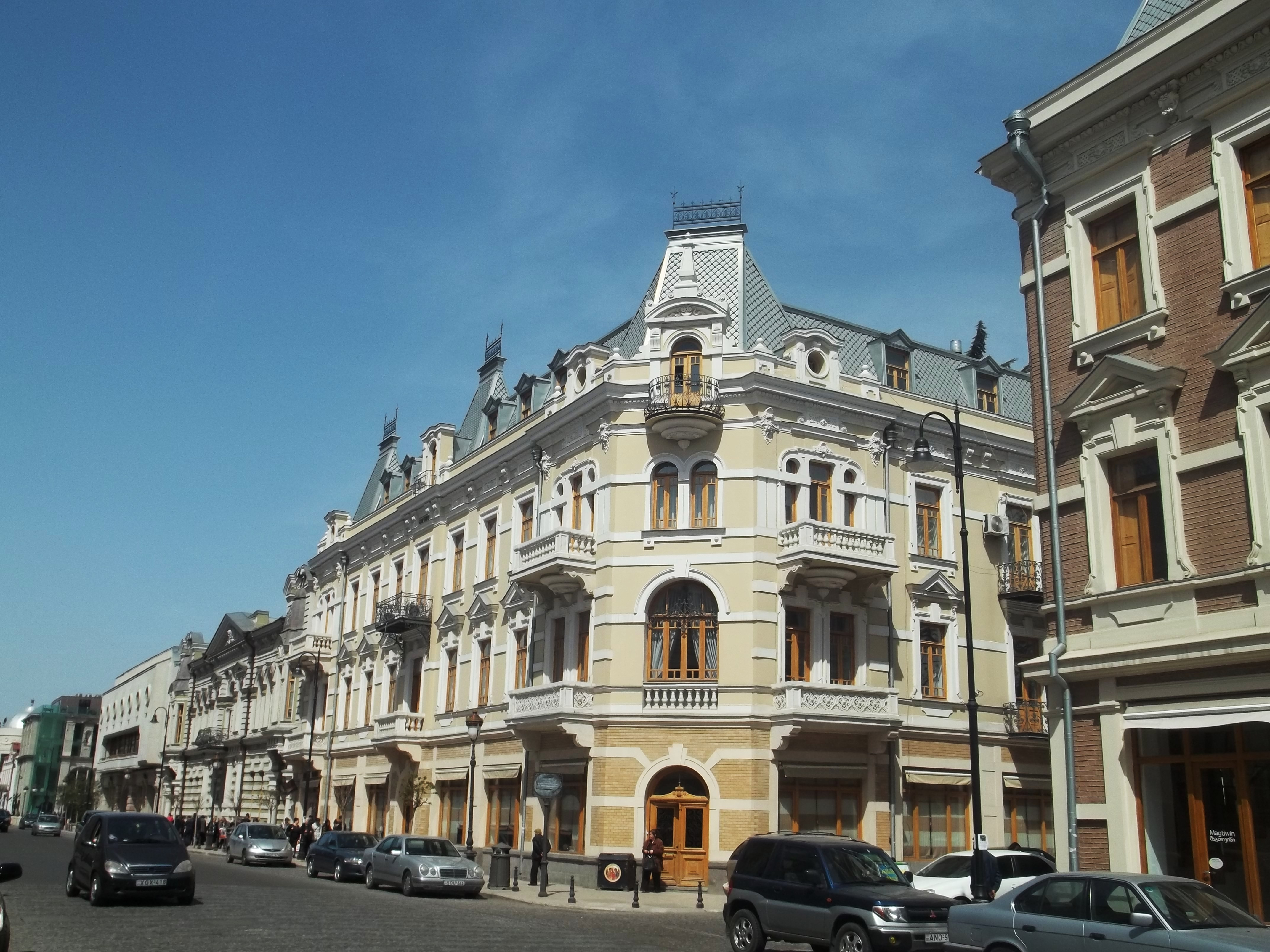 About architecture davit agmashenebeli avenue tbilisi for How to become a builder in ga