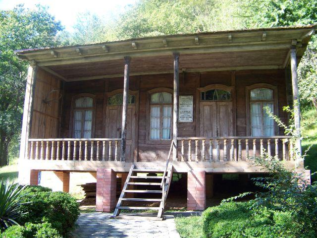 Egnate Ninoshvili Museum. Photo by ჯაბა ლაბაძე, via Wikimedia Commons