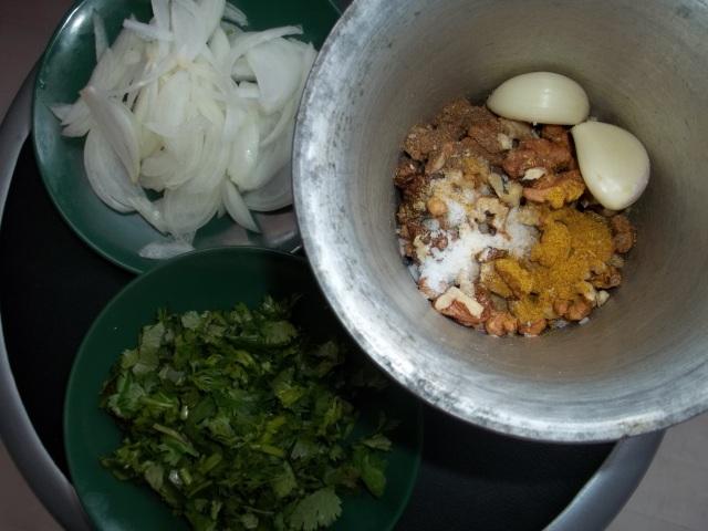 Lobio with Nuts Recipe Ingredients