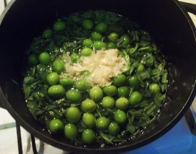Cooking Ingredients for Chakapuli Recipe