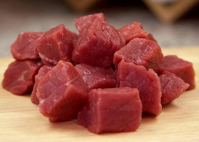 Diced Lamb for Chakapuli Recipe - Copy