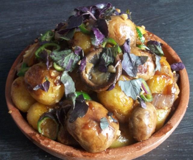 Mushroom Chashushuli in Ketsi