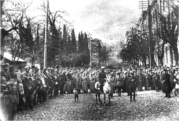 The 11th Red Army occupies Tbilisi 25 February 1921