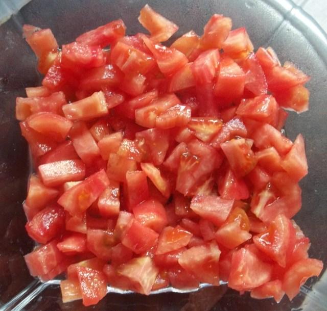 Tomatoes for Georgian Salad
