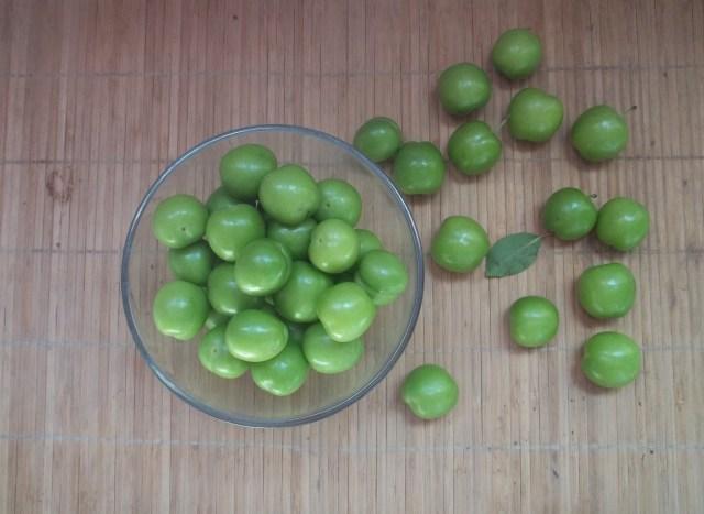 Wild Sour Plums for Chakapuli Recipe