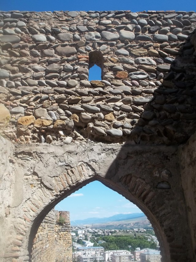 Arch in the Gateway to Gori Fortress