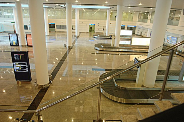 Baggage Reclaim at Tbilisi International Airport