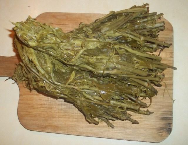 Boiled Ekala