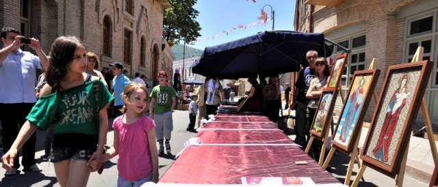 Craftwork and Art at the Kartli Wine Festival