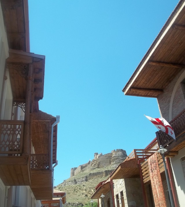 Gori Fortress Overlooking the Kartli Wine Festival - Copy
