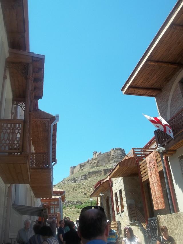 Gori Fortress Overlooking the Kartli Wine Festival