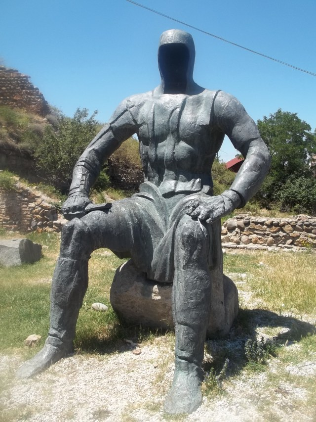 Memorial of Georgian Warrior Heroes by the Gori Fortress 2