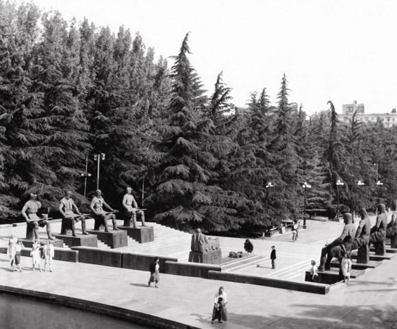Memorial of Georgian Warrior Heros in Vake Park