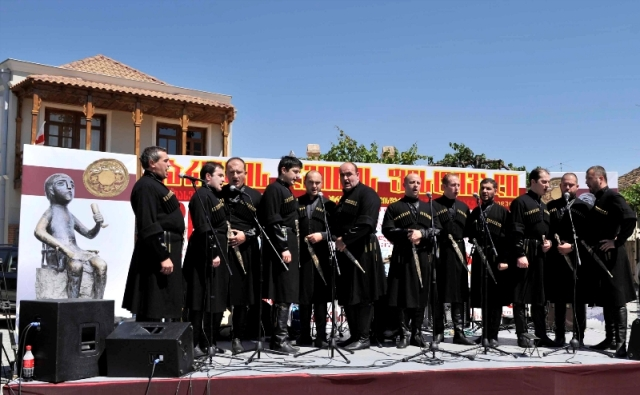 Singers at the Kartli Wine Festival