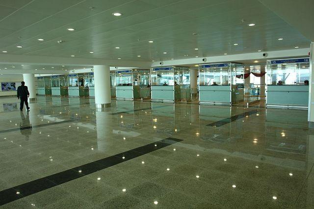 Tbilisi International Airport Arrivals Passport Control