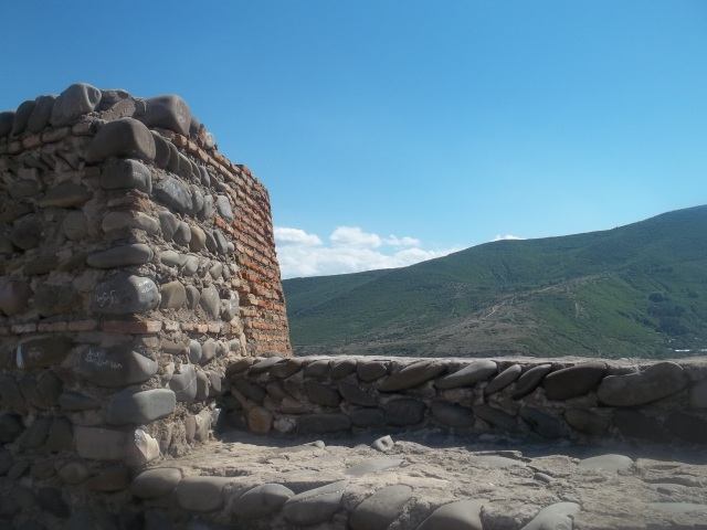 View of the Mountains from Gori Fortress