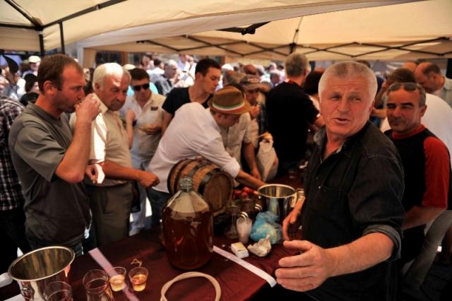 Wine Producers at the Kartli Wine Festival in Gori