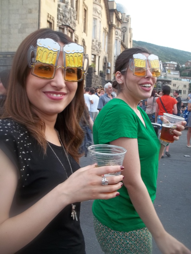 Beer Goggles at the Tbilisi Beer Festival 2013
