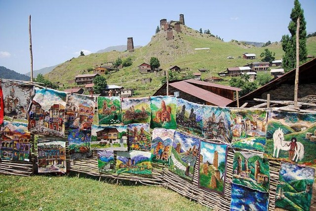 Display of Tushetian Art at Tushetoba Festival