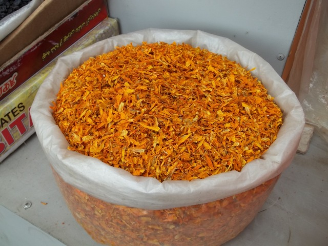 Dried Marigold Flower Petals