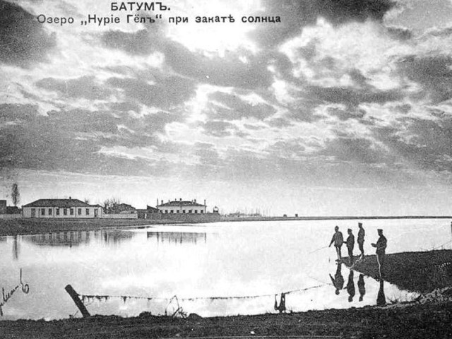 Old Picture of Nuri Geli Lake