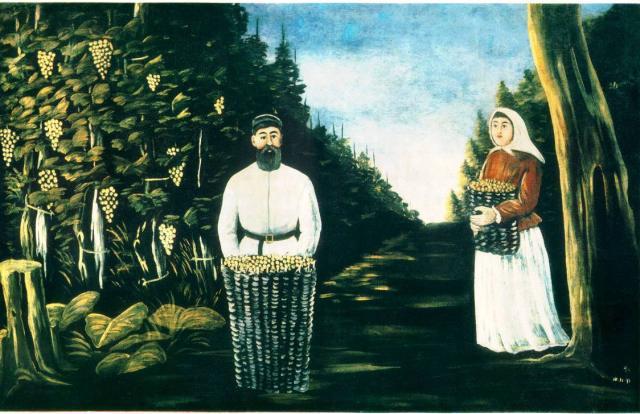 Pirosmani Painting