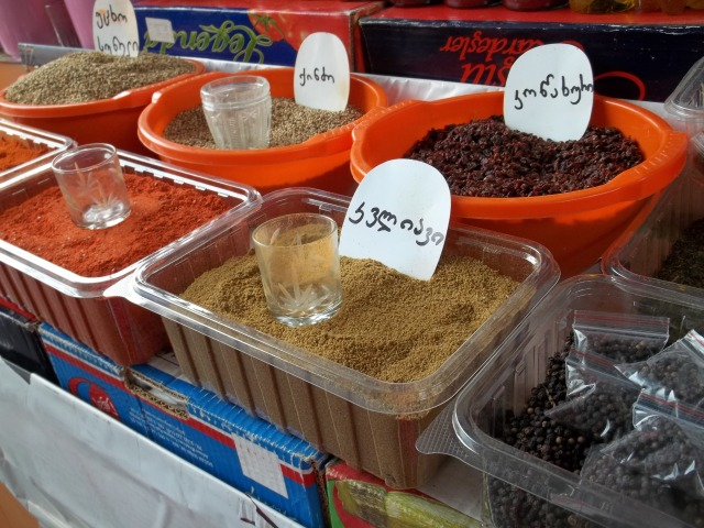 Spice in a Georgian Market